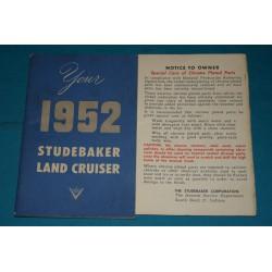 1952 Studebaker Land cruiser
