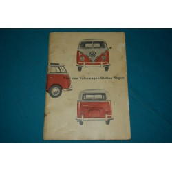 1966 Volkswagen DLX Transporter type 2