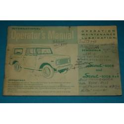 1971 International Scout-800B