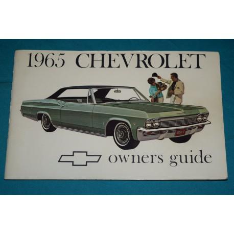 original 1965 chevrolet impala owners manual rh thegloveboxshop com 1968 Impala 1969 Impala