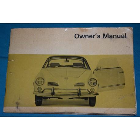 original 1968 volkswagen karmann ghia type 14 owners manual rh thegloveboxshop com karmann ghia service manual karmann ghia user manual
