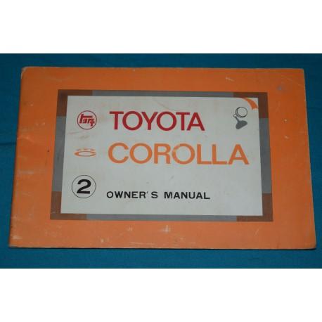 original 1971 toyota corolla owners manual rh thegloveboxshop com toyota corolla owners manual 2014 toyota corolla owners manual pdf