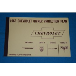1963 NOS Owners protection Plan