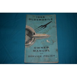 1955 Oldsmobile Owners manual