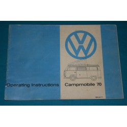 1970 -1972 Volkswagen Westfalia supplement