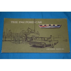 1962 Ford owners manual