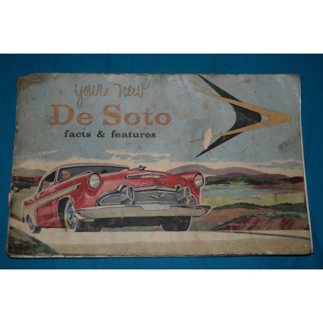 1956 DeSoto owners manuals