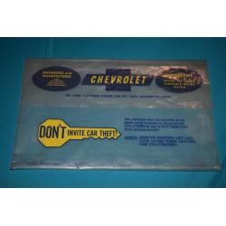 1966-1968 Owners Manual Envelope