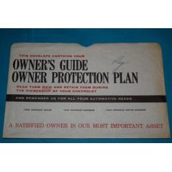 1961-1963 Owners Manual Bag