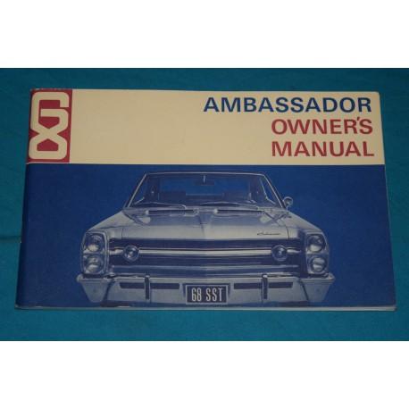 original 1968 amc ambassador owners manual rh thegloveboxshop com AMC Spirit AMC Hornet