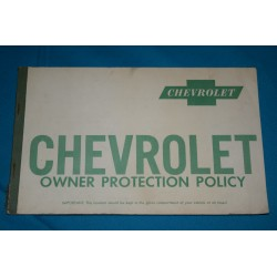 1960 NOS Owners Protection Policy