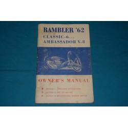 1962 AMC Rambler Classic 6 & Ambassador V8