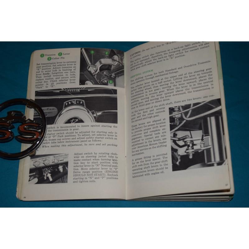 original 1961 amc rambler american owners manual