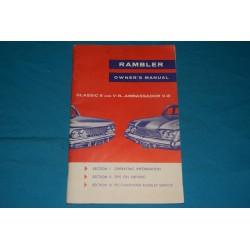 1961 AMC Rambler Classic & Ambassador V8