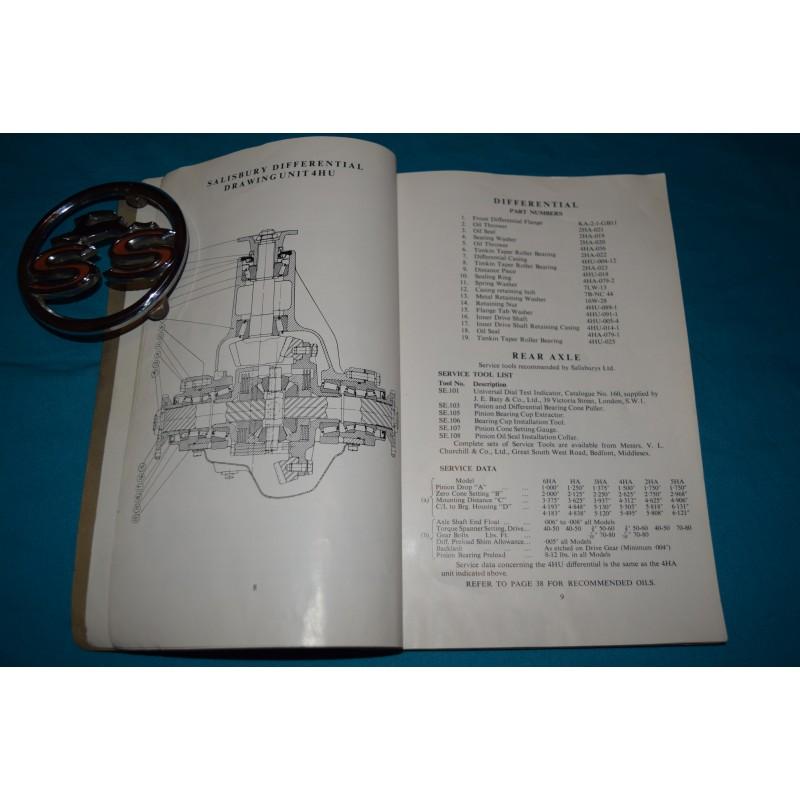 Original 1966 Shelby Ac Cobra 427 Owners Manual